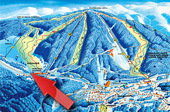mapa horak